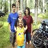 Derek, Sandra, Grandma, and Emily